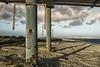 La spiaggia abbandonata (nicolamarongiu) Tags: cagliari sardegna italy sea beach giorgino mare luce contrast city decadence abbandoned