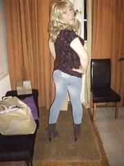 Rear View (rachel cole 121) Tags: tv transvestite transgendered tgirl crossdresser cd