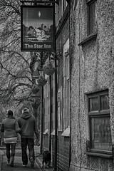 49/365/2018 The Star Inn (jpm_pictures) Tags: pub potd walkingthedog english mono bnw