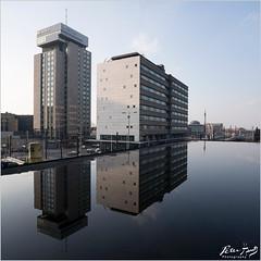 Ugliness beautifully reflected... (Peter Heuts) Tags: utrecht city reflections reflecties stad stadt mirror spiegel sony a99m2 a99 mark 2 full frame sal1635z carl zeiss 1635mm peter heuts peterheuts