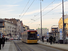 "Pesa 128N ""Jazz-Duo"", #3643,  Tramwaje Warszawskie (transport131) Tags: tram tramwaj tw ztm warszawa wtp warsaw pesa 128n jazzduo"