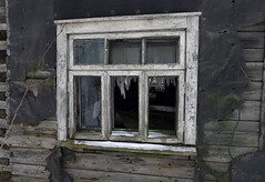 Ghost House (Jolita Kievišienė) Tags: house home ghost old abandoned forgotten past rural rustic village lietuva lithuania window shack