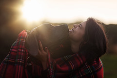 Channel&Ariella (Alexandremqs) Tags: dogs pets dogue alemao great dane puppy sunset woman brunette red backlight sunlight shadow dark mood love doglove happydogsday happy hapiness explore expression portugal portrait perro photography photoshoot natural light yourbestoftoday