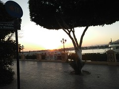 (nanisalleh) Tags: river nile rivernile sunset silhouette trees