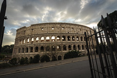 Flavian Amphitheatre (A.Dissing) Tags: flavian amphitheatre the colosseum or coliseum rome roma rom a7ii anders artistic adventure amazing a7 art awesome a7m2 angle abandoned exposure enjoy explore tall old outside outdoor out light yellow young year you