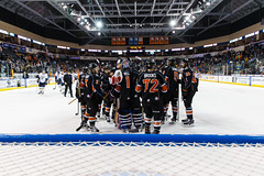 "Kansas City Mavericks vs. Toledo Walleye, January 21, 2018, Silverstein Eye Centers Arena, Independence, Missouri.  Photo: © John Howe / Howe Creative Photography, all rights reserved 2018. • <a style=""font-size:0.8em;"" href=""http://www.flickr.com/photos/134016632@N02/28060984329/"" target=""_blank"">View on Flickr</a>"