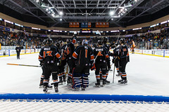 "Kansas City Mavericks vs. Toledo Walleye, January 21, 2018, Silverstein Eye Centers Arena, Independence, Missouri.  Photo: © John Howe / Howe Creative Photography, all rights reserved 2018. • <a style=""font-size:0.8em;"" href=""http://www.flickr.com/photos/134016632@N02/28060984889/"" target=""_blank"">View on Flickr</a>"