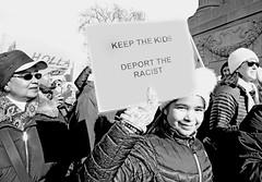 Keep the Kids / Deport the Racist (kirstiecat) Tags: daca dreamers savedaca makefeminismintersectional street chicago canon protest liberal progressive women womensmarch womensrights humanrights thisiswhatdemocracylookslike thepeopleunitedwillneverbedefeated thepeopleunitedwillneverbedivided resist resistfascism impeachtrump trumpmustgo notrumpnokkknoracistusa people protestors signs plannedparenthood mycountrymyvoice nohumanisillegal iamawomanhearmeresist dissentingispatriotic america illinois blackandwhite deporttheracist monochromemonday noiretblanc child girl monochrome