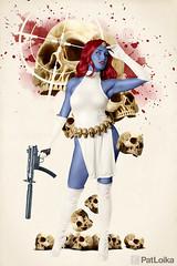 Mystique (PatLoika) Tags: xmen xmencosplay xfactor mystique ravendarkholme cosplayphotography cosplay