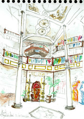 Kochi, India (Croctoo) Tags: croctoo croctoofr croquis crayon aquarelle water kochi cochin india inde magasin boutique commerce