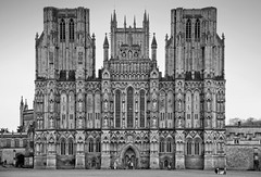 Wells Cathedral West front (archidave) Tags: wells cathedral gothic church medieval decorated architecture somerset