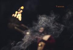 Varanasi (BALAJI SEETHARAMAN) Tags: smoke gangaaarthi belief culture india travel varanasi cwc chennaiweekendclickers cwc634
