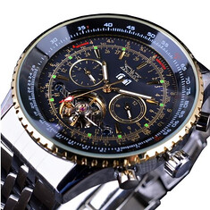 JARAGAR F120506 Fashion Automatic Mechanical Watch Stainless Steel Strap Men Wrist Watch (1164589) #Banggood (SuperDeals.BG) Tags: superdeals banggood jewelry watch jaragar f120506 fashion automatic mechanical stainless steel strap men wrist 1164589