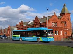 Arriva Merseyside 5015 Widnes (transportofdelight) Tags: arriva merseyside 5015 ow17wng widnes