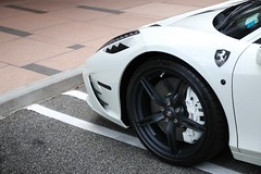Speciale (nyccars) Tags: exotic cars closeup wheels white speciale 458 ferrari