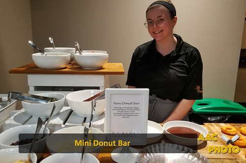 "Mini Donut Bar Interactive Station • <a style=""font-size:0.8em;"" href=""http://www.flickr.com/photos/159796538@N03/38654253660/"" target=""_blank"">View on Flickr</a>"