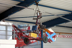 N2893 Wickson Bensen B-8M Gyrocopter @ Seppe Breda Airport 03-Jun-2017 by Johan Hetebrij (Balloony Dutchman) Tags: inside vliegend museum seppe 2017 breda airport netherlands aircraft n2893 wickson bensen b8m gyrocopter b8