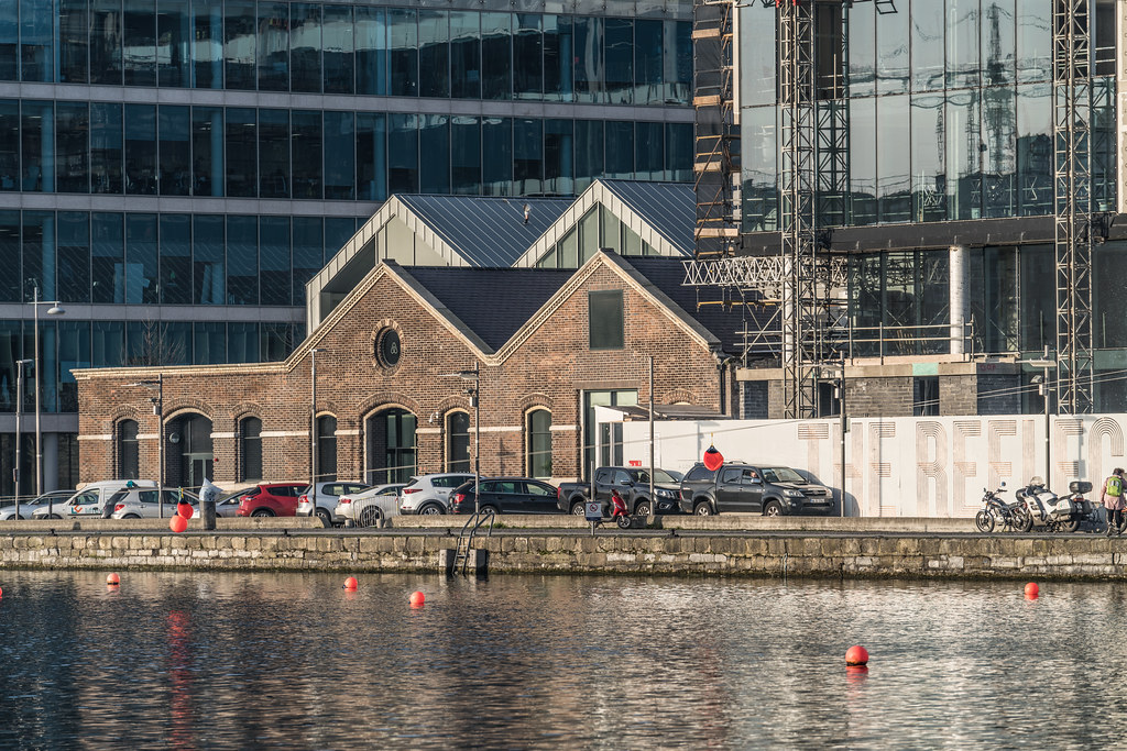 GRAND CANAL DOCK AREA OF DUBLIN [PHOTOGRAPHED 11 JANUARY 2018]-135428