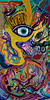 Hung up on Love (MattCrux) Tags: psychedelic lsdtrip acid abstract trippy colorful rainbow lsd strange weird drug drugs weed high trip love acrylic painting acrylicpainting traditional canvas paint painted artist drawing illustration art arts expressive different beautiful artsy creativity creative