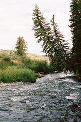 Dubois (joshrogers117) Tags: film canon ae1 kodak portra 400 wyoming outdoors nature mountains jackson hole tetons