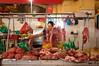 IMGP7850  Fresh Meat at Ben Thanh Market (Claudio e Lucia Images around the world) Tags: market portrait lady smile smiling street hochiminh saigon vietnam pentax streetmarket vendor pentaxk3ii sigma sigma1020 cibo insegna meat carne butcher benthanhmarket benthanh