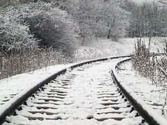 P1148502 (Dreamaxjoe) Tags: snow winter hó budapest vasút railway outofservicerailroadtrack