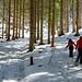 Caminhando na neve...
