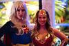 Super Girl and Wonder Woman (nan palmero) Tags: sanantonio texas unitedstates us zazagardens sanantoniococktailconference sacc2018 sonya7riii cocktails drinks cocktailconference