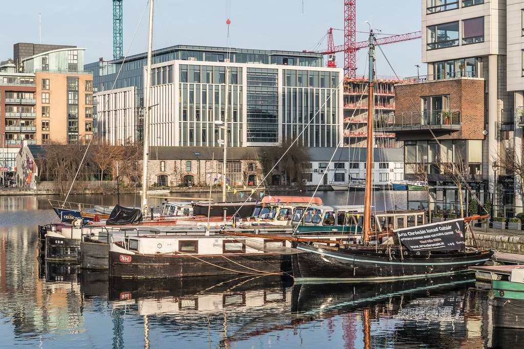 GRAND CANAL DOCK AREA OF DUBLIN [PHOTOGRAPHED 11 JANUARY 2018]-135439