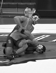 BRO-STA 165 2018-01-13 DSC_8351 bw (bix02138) Tags: brownuniversity brownbears stanforduniversity stanfordcardinal pizzitolasportscenter pizzitolasportscenterbrownuniversity providenceri january13 2018 wrestling sports intercollegiateathletics athletes jocks ©2018lewisbrianday 165pounds 165 jonviruet jaredhill