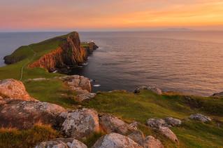 Hebridean sunset