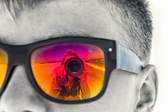 From his or her view (Kati471) Tags: fromhisorherview face gesicht selfie bw colour kamera strand beach sunglasses sonnenbrille camera snapshot momentaufnahme