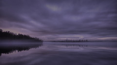 Wintermood (Norbert Clausen) Tags: thebluehour bluehour blaue stunde see lake langzeitbelichtung longexposure