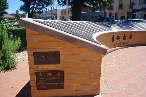 the cenotaph in Goulburn, NSW, Australia
