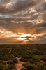 quiet and calm morning (hjuengst) Tags: southafrica sunrise oudtshoorn sunrays calm quiet clouds cloudy littlekaroo