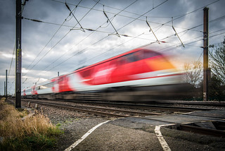 Class 91 At Speed