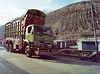 leaving the city behind... (rock 'n' lola) Tags: truck travel adventure karakoram passu pakistan analog expiredfilm 120mm