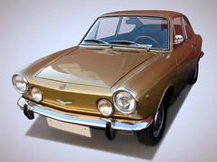 SEAT 850 SPORT (1971) (fernanchel) Tags: vehiculo ciudades coche car torrent gimp classic clasico seat 850