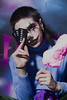 Macabre clothing (Andres Velez A) Tags: clown clowns clownkillers makeup photography fashion macabre colombia mullet rat kids love guns cottoncandy