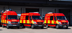 Specialist Appliance's (firepicx) Tags: northumberland fire rescue service appliance 999 blue lights responding sirens water incident command unit icu srt sru specialist nk14vzh nk61cbf nk60arz