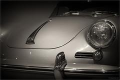 i have a dream (goehler.mike) Tags: bw black white sw schwarz weiss sepia oldtimer einfarbig car porsche