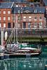 Reflets sur le port (Lucille-bs) Tags: europe france normandie seinemaritime stvaléryencaux port bateau habitation architecture reflet quai