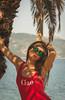 Beauty summer (abdiefff) Tags: beauty girl swimwear ciao palm sea fashion look red sunglasses