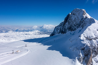 Stunning views from the Dachstein Sky Walk