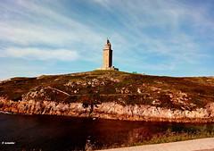 1.241 - A walk to the seashore (esnalar) Tags: paseomarítimo paseo costa costaatlántica coruña acoruña lacoruña galicia españa spain aquaris coast atlanticcoast seapromenade promenade seafrontpromenade torredehércules