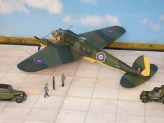Heinkel He-111 H-1 (modelldoc) Tags: plastic kit frog revell 1426 flight enemy aircraft rafwaffe löwengeschwader kg 26
