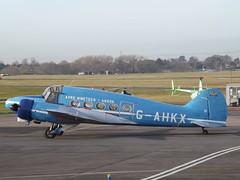 G-AHKX Avro Ansn Private (Aircaft @ Gloucestershire Airport By James) Tags: gloucestershire airport gahxk avro ansn private egbj james lloyds