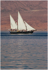 Taba (pg tips2) Tags: tabaheights taba red sea beach resort holiday redsea sailing ship boat