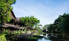 Sepilok Nature Resort (Xnalanx) Tags: asia borneo buildings environment hotel lake malaysia manmade places plants sandakan sepiloknatureresort trees water