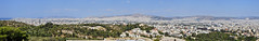 City of Athens (chrisdingsdale) Tags: athens panorama city greece urban greek architecture hephaisteion view panoramic hill civilization europe travel ancient tourism sky temple vacation history classical monument cityscape touristic hellenic ruins buildings capital landscape aerial scenic sight landmark mediterranean archeology mountain town scene skyline athena wide church ruin street sightseeing roofs houses